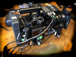 Red helium teradek bolt angenieux zoom tangerine
