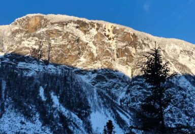 Ice climbing: Pomme d'Or 2020